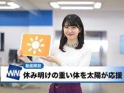 あす1月4日(金)のウェザーニュース・お天気キャスター解説