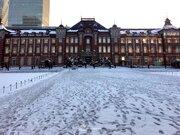 上空の寒気の強さと雪の目安