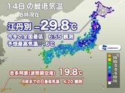 旭川市江丹別で−29.8℃を観測 今冬の全国最低気温を記録更新