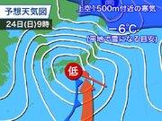 次の週末は低気圧が発達しながら通過 関東など1月としてはまとまった雨か
