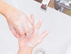 画像:【インフルエンザ対策】1分間の手洗いでウイルスが「10万分の1」に