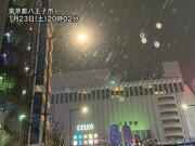 東京・多摩エリアで本格的な雪に 夜遅くにかけて東京都心も雪に変化
