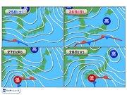 来週にかけて雨続く 東京は2回の雪の可能性