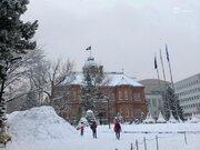 札幌など北海道では再び積雪が増加 吹雪にも注意