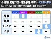 """週末に東京都心で雪が舞う確率は""""20%"""" 世界各国の予測モデルを解析"""