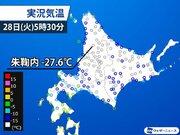 北海道・朱鞠内で-27.6℃ 今冬全国の最低気温を観測
