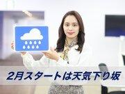 あす2月1日(月)のウェザーニュース お天気キャスター解説