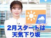 2月1日(月)朝のウェザーニュース・お天気キャスター解説