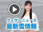 【動画解説】千葉や茨城で2cmの積雪 路面の状況に要注意