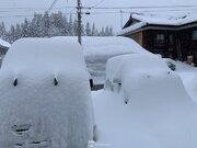 ひと晩で50cm近く積雪増 今日も北陸など日本海側は大雪や吹雪に警戒