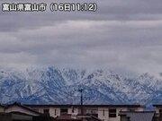北陸で春一番発表 富山で最大瞬間風速19.5m/s