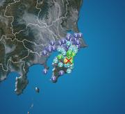 千葉県で震度4の地震 津波の心配なし