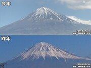 今日は富士山の日  今年、山頂の雪が少ない理由は?