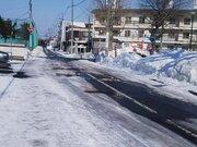 雪解け進む北海道 札幌では3月を前に初春の路面状況に
