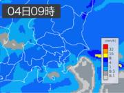 東京は朝の通勤通学から冷たい雨 昼間も寒さが続く