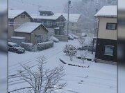 一晩で30cmの積雪も 東北や北陸 午前中は強い雪に注意