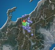 長野県で震度4の地震発生