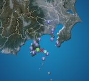 伊豆大島近海で地震 静岡県で震度3 津波の心配なし