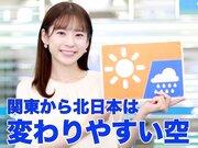 4月25日(日)朝のウェザーニュース・お天気キャスター解説
