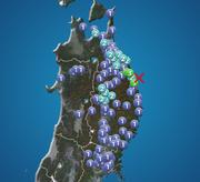 岩手県で震度3の地震発生