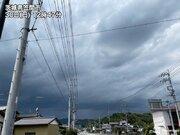 北関東で雨雲が発達 東京都心も午後は急な雨に注意