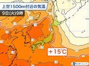来週にかけて連日30℃前後 梅雨入り前に暑さ続く