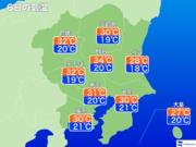関東 梅雨入り目前に猛暑日に迫る 6日(木)は東京も10日ぶり真夏日予想