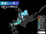札幌は真夏日から一転して雷雨に