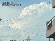 関東の内陸部は急な雷雨に注意 暑さで大気の状態が不安定に