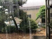北日本で局地的に強い雨 関東も午後は雷雨に注意