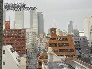 名古屋は梅雨の晴れ間から一転 急に雨が降り出す