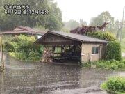 東北で局地的に雨雲が発達 夕方にかけて雷雨に注意