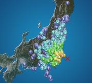 千葉県東方沖でM6.2の地震 最大震度5弱 津波の心配なし