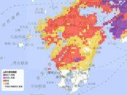 九州北部の大雨特別警報は解除に 土砂災害には引き続き警戒を