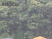 関東は北部で土砂降りの雨 午後は東京など南部も本降りに
