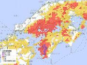 高知県・愛媛県の大雨特別警報が解除