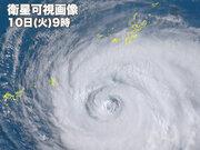 台風8号 沖縄・先島諸島に接近 宮古島は暴風域に