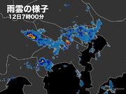 12日朝は東京など関東南部で局地的に激しい雨 午後もゲリラ豪雨注意