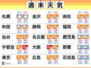 週末天気 猛暑は休み知らず 沖縄は台風10号接近