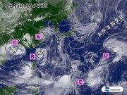 北西太平洋に複数の熱帯低気圧 今後の動向は