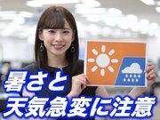 7月28日(日)朝のウェザーニュース・お天気キャスター解説