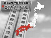 """8月は再び猛暑へ… 東海以西に""""異常天候早期警戒情報"""""""