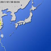 【台風第9号に関する情報】平成29年7月30日05時12分 気象庁予報部発表