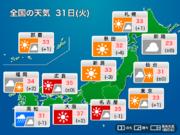 31日(火) 暑さで締めくくる7月最終日