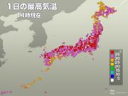 仙台で観測史上1位の暑さ 猛暑日地点200、真夏日地点は今年最多の755