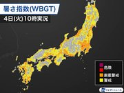 東京は今年一番の暑さを予想 暑さ指数(WBGT)は午前中から危険レベル