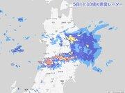 秋田や青森で猛烈な雨 東北は夕方まで大雨警戒