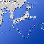 【台風第5号に関する情報】平成29年8月9日04時52分 気象庁予報部発表