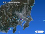 東京や埼玉で激しい雨 落雷や突風に注意
