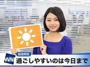 8月19日(日)朝のウェザーニュース・お天気キャスター解説